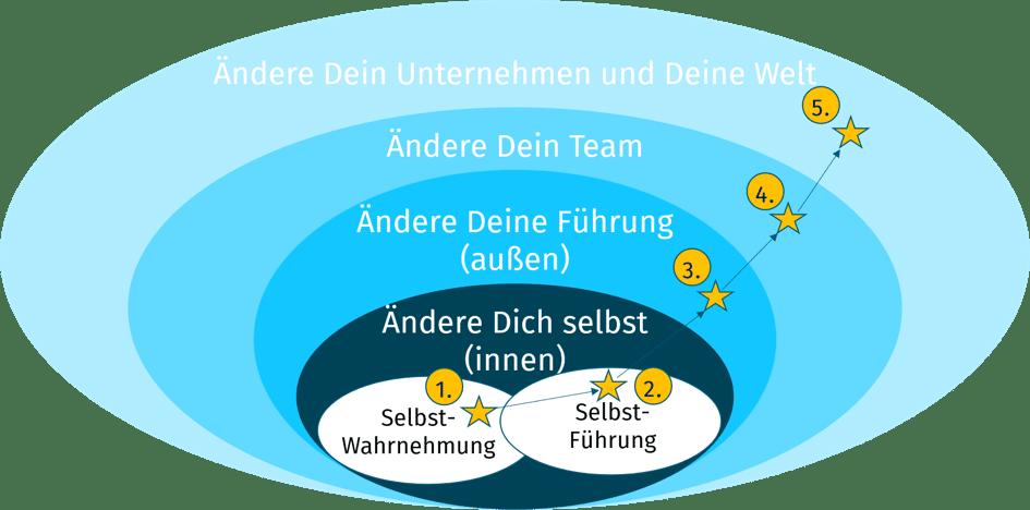 Organisationsentwicklung in 5 Phasen